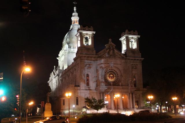 fallen church